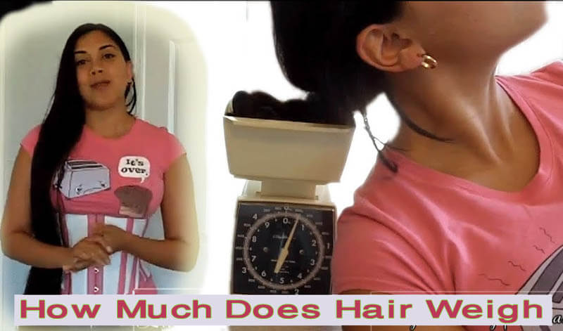 How Much Does Hair Weigh