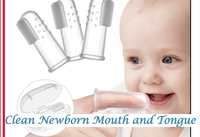How to Clean Newborn Mouth and Tongue