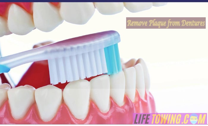 How to Remove Plaque from Dentures